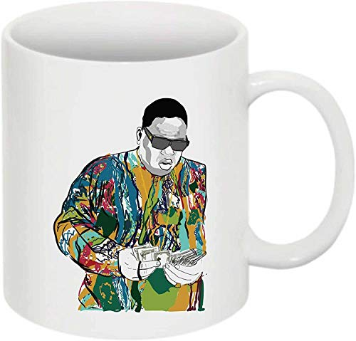 The Notorious B.I.G. Biggie Smalls Coogie Sweater 11 0Z Keramik Weißer Becher