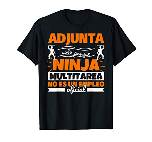 Adjunta regalo divertido ninja Camiseta