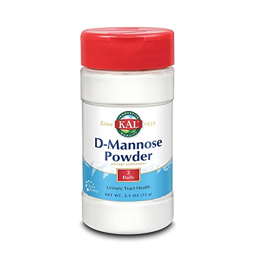 KAL® D-Mannose 1600mg | Fast-Dissolving Powder to Support Urinary Tract Health | Unflavored | 2.5oz | 45 Servings