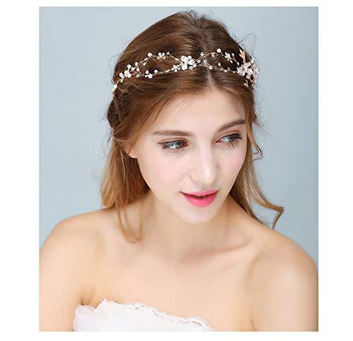 YUKANGI vestido de novia elegante romántico hecho a mano accesorios de boda...