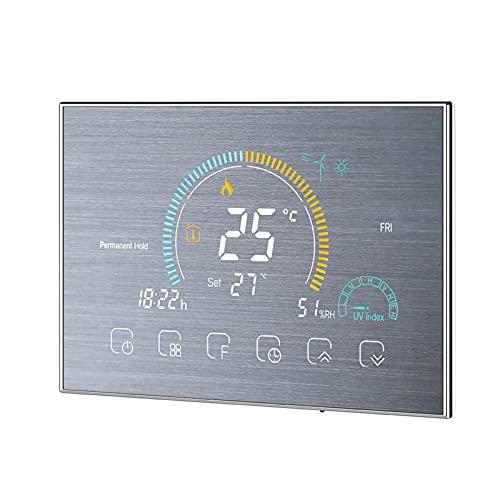 Pilvnar Termostato WiFi para Calefacción de Gas, App...