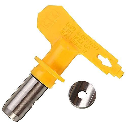 CCH-WQPZS, 1pc sin aire pulverizador de pintura punta del aerógrafo Boquilla Inicio pistola de pulverización for pintura portátil Pulverizadores Powder Coating Sprey Boya 4 (Size : 213)