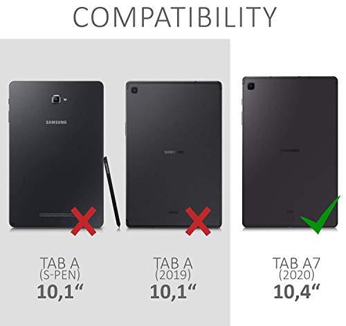 """KATUMO 360° Drehen Hülle für Samsung Galaxy Tab A7 10.4"""" 2020 Schutzhülle mit Standfunktion Samsung Tablet A7 Hülle SM T500/ SM T505/ SM T507 Flip Cover"""