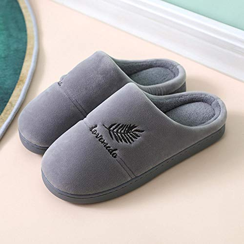 Wooden floors Warm house shoes,winter autumn Guest slippers,male female living room Slip on Mules,furry slipper Clogs,couples home Mules,family/friends gifts -dark_grey_39-40