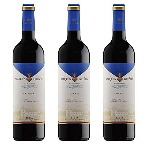 Marques de Grinon D.O. Rioja Selecc. Especial Crianza - 3 botellas de 750 ml - Total: 2250 ml