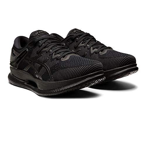 ASICS 1012A130-002-7, Chaussures de Course Femme, Noir, 38 EU