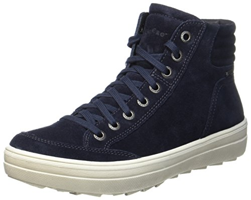Legero Damen Mira Hohe Sneaker,  Blau (Niagara), 41 EU  (7 UK)