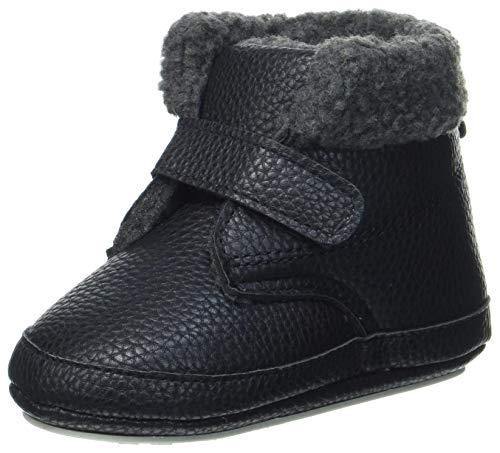 Sterntaler Baby-Schuh First Walker Shoe, schwarz, 22 EU