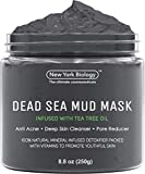 New York Biology Dead Sea Mud Mask for Face and Body Infused with Tea Tree - Spa Quality Pore...