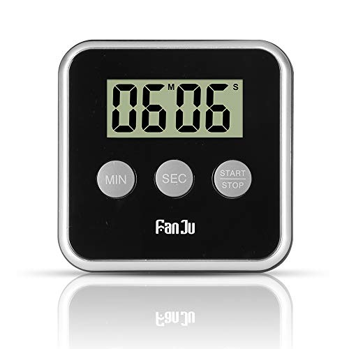 HaavPoois Ultrathin Kitchen Timer Electronic Timer Mini Countdown Alarm for Cooking Homework Exercise