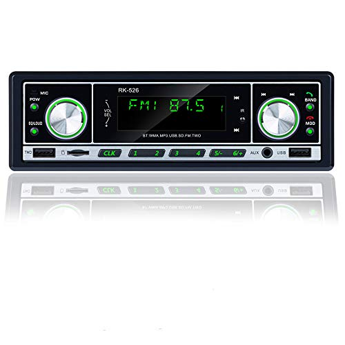 Honboom DAB/DAB + Autoradio Digital mit Erstaunliche High-Fidelity-Klangqualität | Autoradio Unterstützt Bluetooth Freisprechen, USB, TF, AUX | FM-Radio mit DAB-Antenne und Lenkradfernbedienung