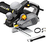 Electric Hand Planer, Jellas Planer with 82mm Width and 3mm Depth,...