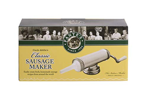Fantes Sausage Maker with Suction Base and 3...