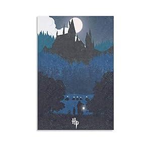 Póster artístico de Harry Potter y impresión artística de pared moderna para habitación familiar, 50 x 75 cm 10