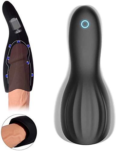 CLOOTE Heißer automatische Kolben Teleskop Deep Throat Drehen Vibration Saug-Modi Full-Automatic-Spielzeug Multiple Vibration