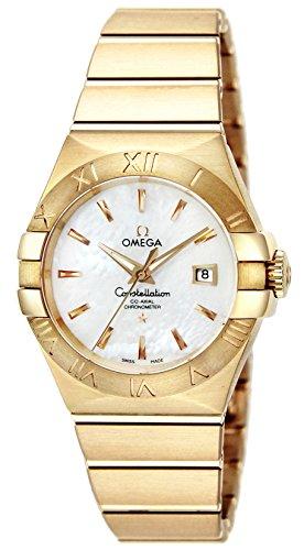 [オメガ] 腕時計 コンステレーション ホワイトパール文字盤 コーアクシャル自動巻き シースルーケースバック 123.50.31.20.05.002 並行輸入品 ゴールド