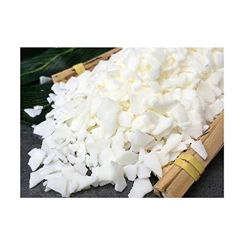 10 kg de cire de soja 100 % pure pour fabrication de bougies - Flocons de soja naturels - Granulés à combustion propre - Blanc