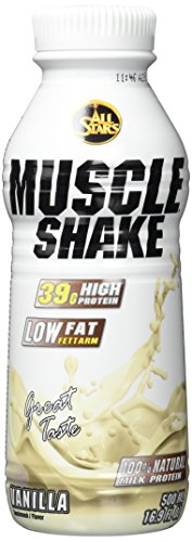 All Stars Muscle Shake, Vanille, 6er Pack (6 x 500 ml)