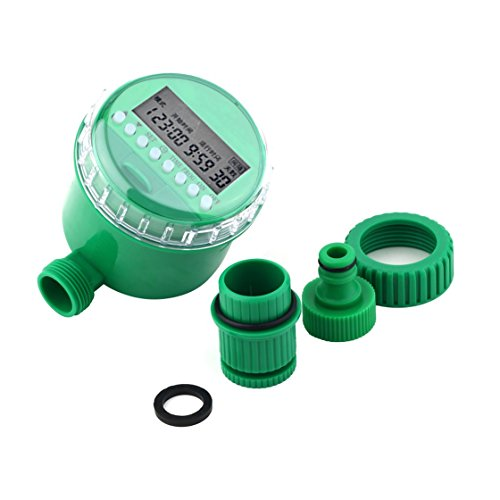 Jessicadaphne Temporizador de Agua para el hogar, Controlador de riego de jardín, 5548-16, Conjunto de programas de Agua, Sistema de riego con válvula solenoide electrónica automática