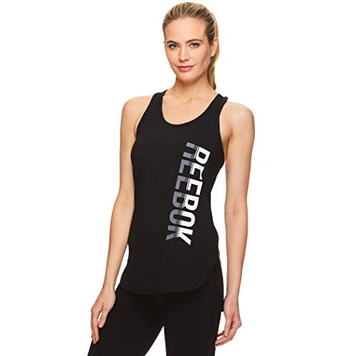 Reebok Women's Legend Performance Singlet Racerback Tank Top - Legend Singlet Black, Small