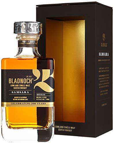 Bladnoch SAMSARA Lowland Single Malt Scotch Whisky mit Geschenkverpackung (1 x 0.7 l)