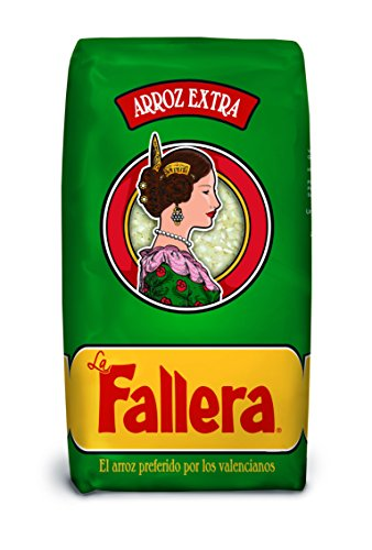 La Fallera - Arroz blanco - 1 Kg - [pack de 4]