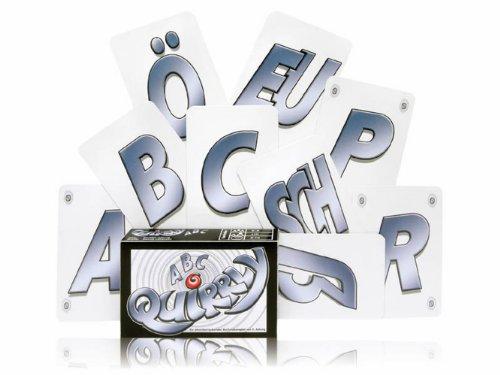 Adlung Spiele 46141 Quirrly ABC - Juego de cartas del abecedario alemán , color/modelo surtido