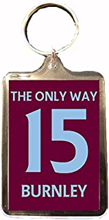 Burnley F.C - The Only Way 15 Keyring