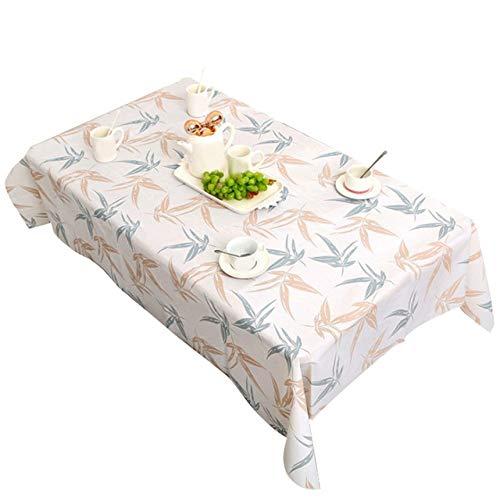 WJDHSG Mantel Elegante,Manteles a Prueba de Aceite a Prueba de Aceite Hogar Cocina Decorativa Cubierta de Mesa de Comedor Manteles de Regalo, 4