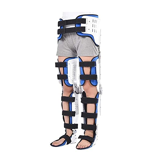 NACHEN Hinged ROM Knee Brace, Post Op Knee Brace for Recovery Stabilization, ACL, MCL and PCL Injury, Orthopedic Support Stabilizer After Surgery, Knee Ankle Orthosis Braces