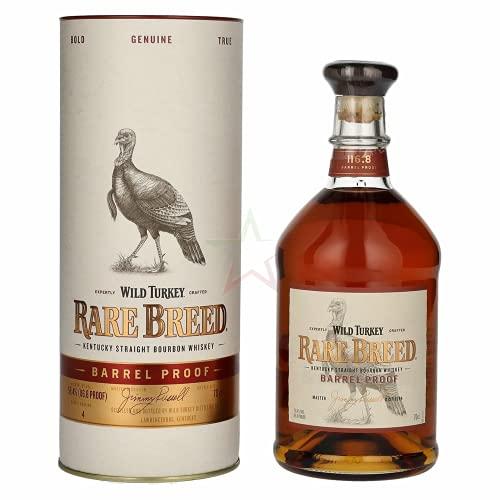 Wild Turkey RARE BREED Kentucky Straight Bourbon Whiskey Barrel Proof 58,40% 0,70 Liter