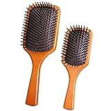 Hairbrush Cepillo de Masaje de Salud para Mujeres, Cepillo Profesional para desenredar el Cabello para Cabello seco, húmedo, Rizado, Delgado, Fino, Afro, Liso y Largo