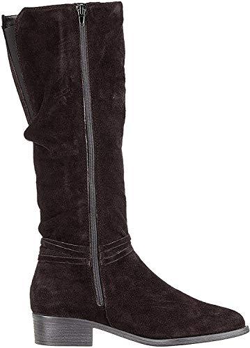 Tamaris Damen 1-1-25561-23 Hohe Stiefel, Schwarz (Black 1), 38 EU
