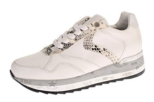 Maca Kitzbühel 2649 - Damen Schuhe Sneaker - White-pyton, Größe:38 EU