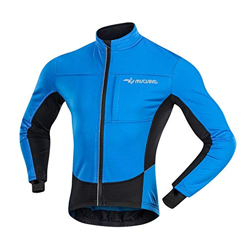 FZYQY Maillot Ciclismo Invierno Hombre Ropa Térmica Ciclismo Camiseta Bicicleta+ Pantalones de...