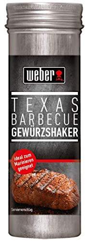 Premium Qualität Gewürz EDORA Streudose Streuer WEBER GRILL WEBER Texas BBQ Gewürzshaker 90 Gramm
