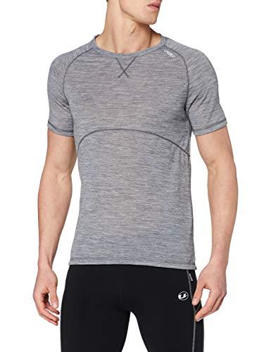 Odlo Revolution TW Light T-Shirt Manches Courtes Homme, Grey Melange, FR : M (Taille Fabricant : M)