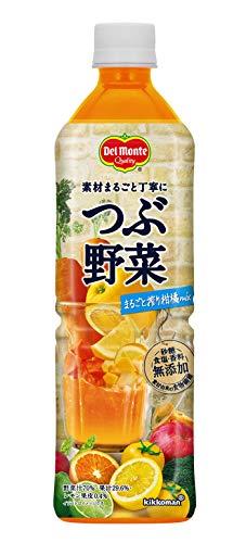デルモンテ つぶ野菜 まるごと搾り柑橘mix 野菜ジュース 900g ×12本