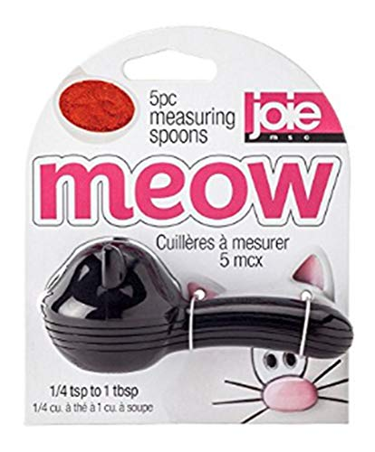 MSC International Meow Measuring Spoons, Assorted Colors