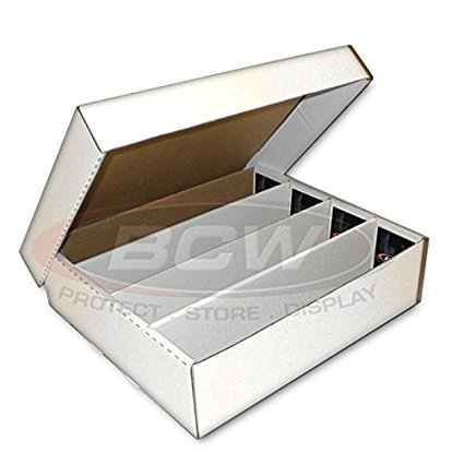BCW Monster Storage Box, Holds 3200 trading cards 5-Pack image