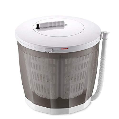 ZWHDS Spin Mini-wasmachine en droger, 2-in-1, handwasmachine, draagbaar, handwas, dubbele wasbeurten, compact design