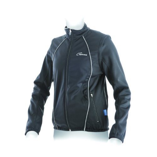 Gonso Damen Softshell-Active-Jacke Lilienfeld, 9000 Black, 42, 31503