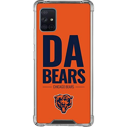 Skinit Clear Phone Case Compatible with Galaxy A51 5G - Officially Licensed NFL Chicago Bears Team Motto Design