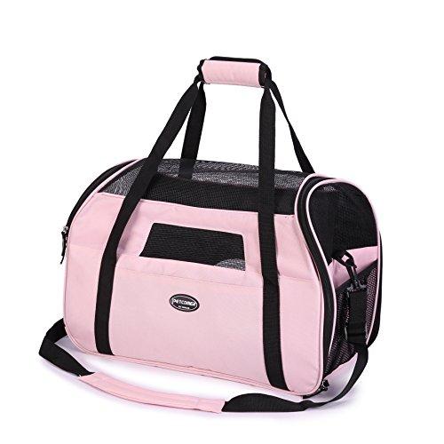 Transportn de tela para mascotas Pettom, bolsa suave de tote