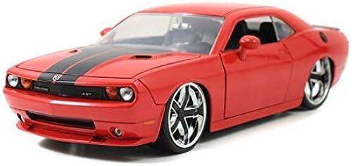 Jada 2008 Dodge Challenger SRT8 Bigtime Muscle 1 24 Scale (Orange) by Jada