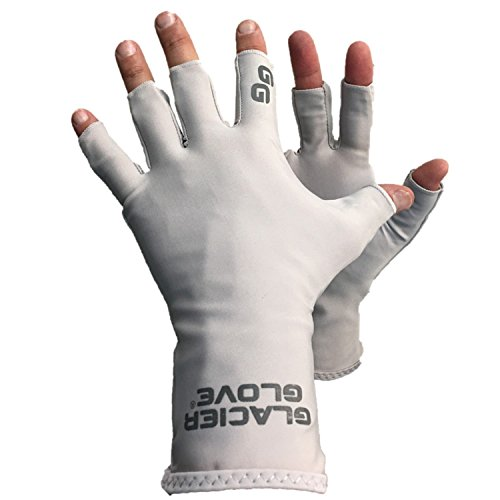Abaco Bay Sun Glove, L/X-Large, GRAY