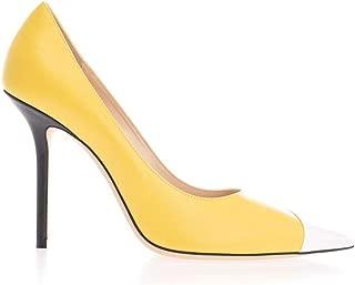 JIMMY CHOO Luxury Fashion Womens LOVE100ZYMYELLOW Yellow Pumps | Fall Winter 19