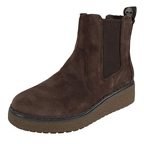 Timberland Damen Stiefel Bluebell Lane Chelsea Boots Dark Chocolate (braun), Größe:38