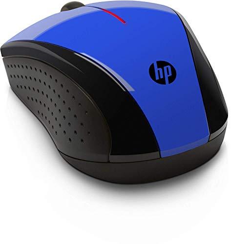 HP X3000 - Ratón inalámbrico óptico, Color Azul