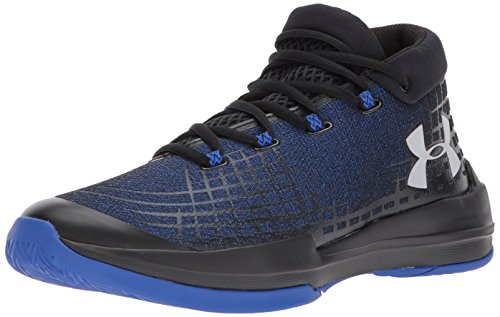 Under Armour Men's NXT TB Basketball Shoe, Black (002)/Team Royal, 11